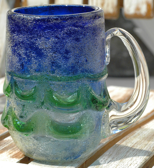 茶泡ビアグラス ¥5.500(税抜)