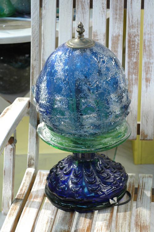 泡ガラス創作ランプカレー泡 ¥85.000(税抜)